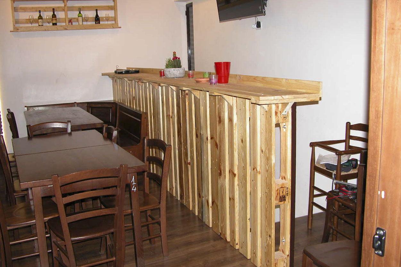 Bancone Bar Per Casa fai da te - mobili in pallet