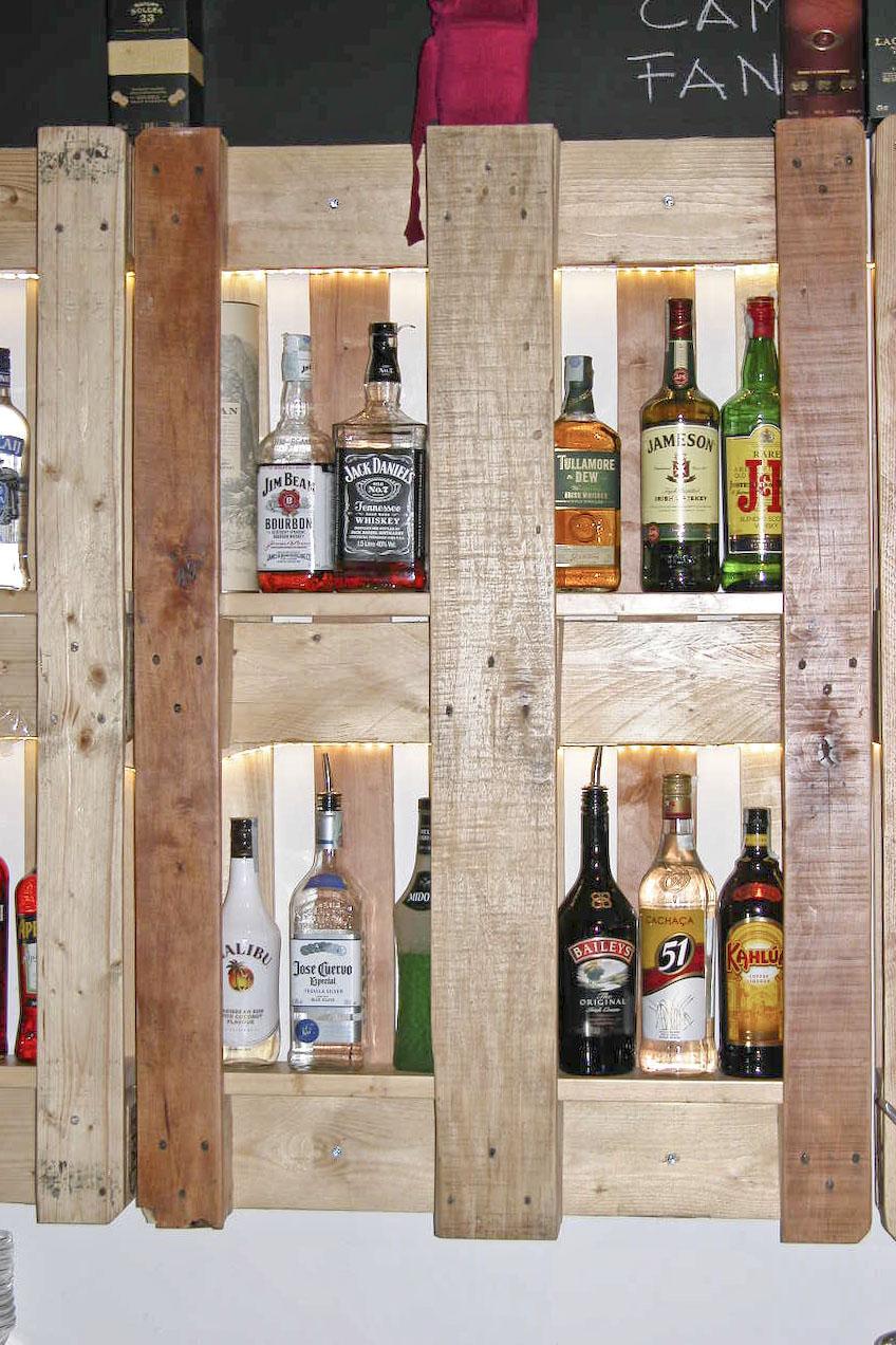Fabuleux arredo bar e pub - mobili in pallet GT06