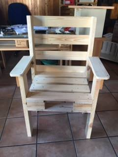 Poltrone Con Pallet.Sedie Mobili In Pallet