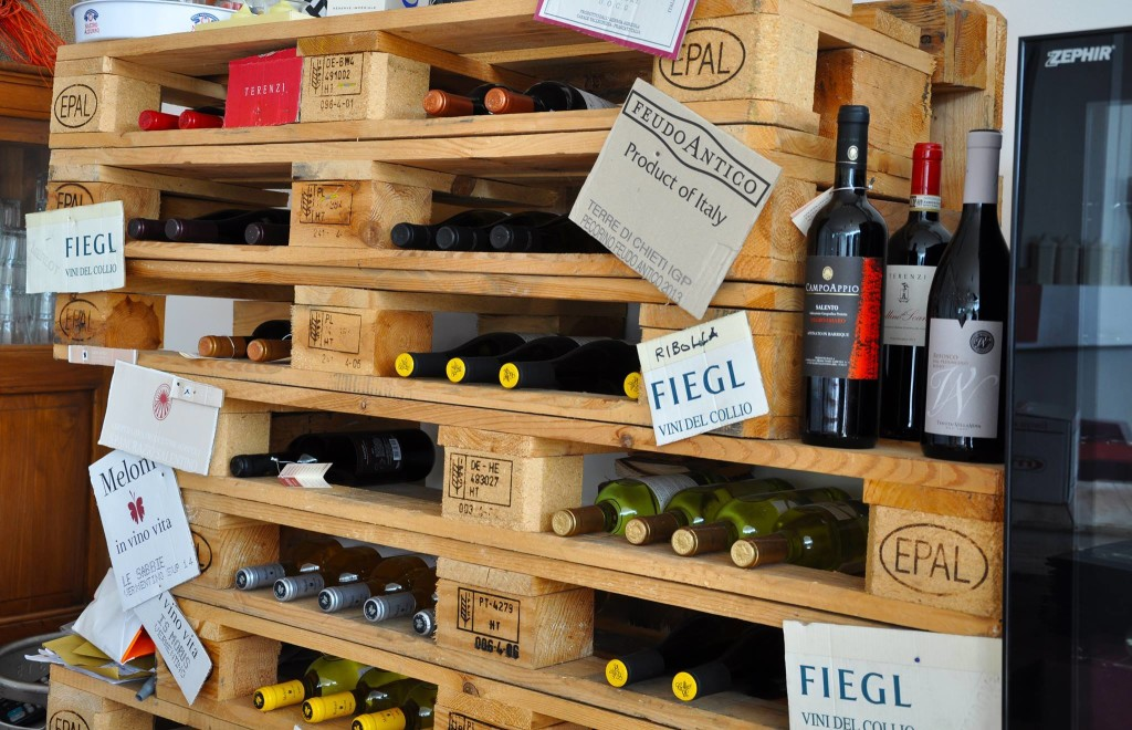 Cantinetta in pallet