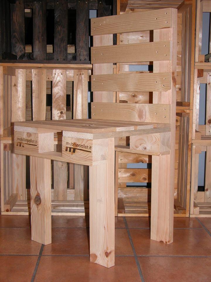 Sedia in pallet COD. SED01