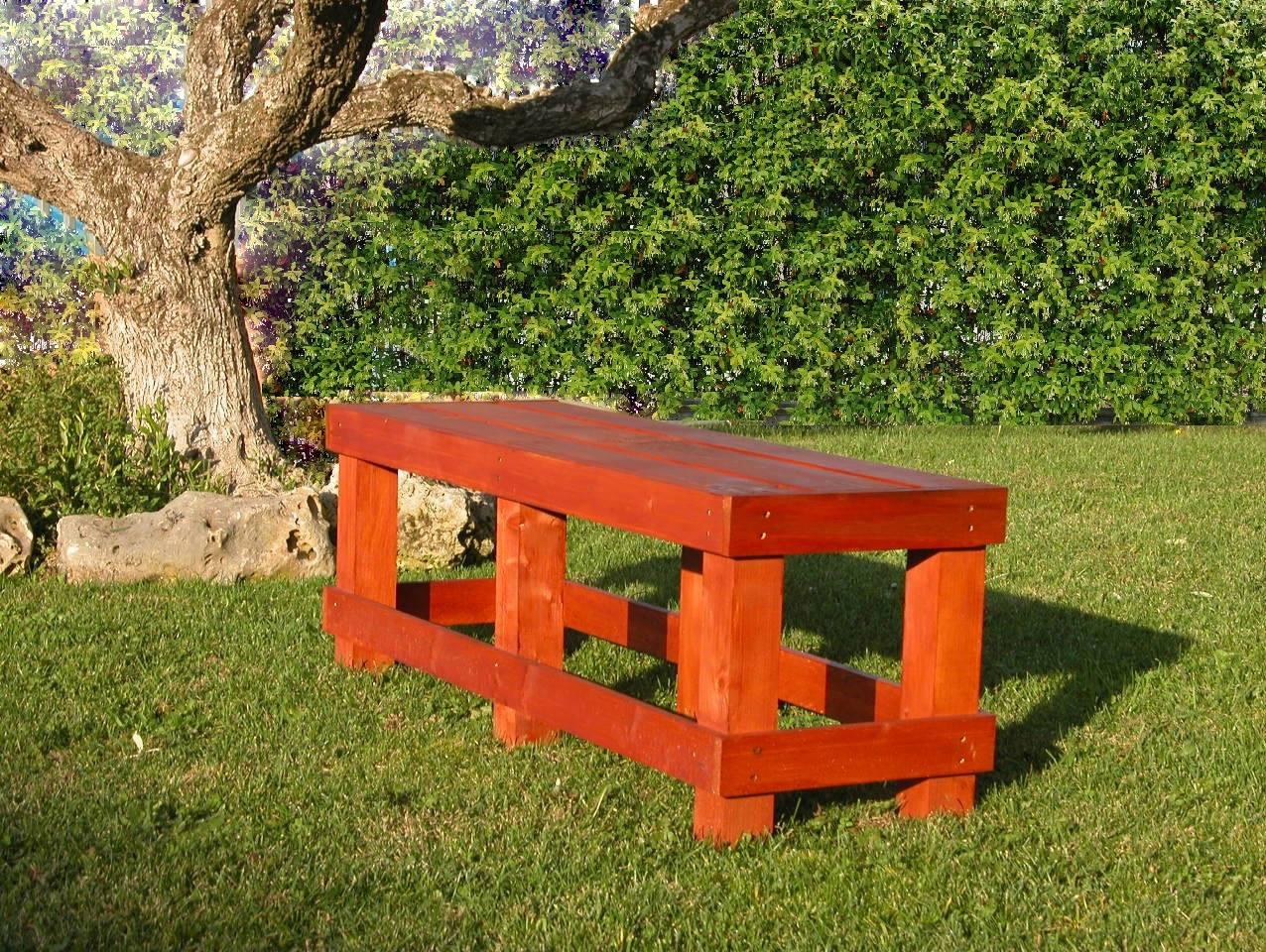 Sedie per ristorante mobili in pallet for Panchina bancali
