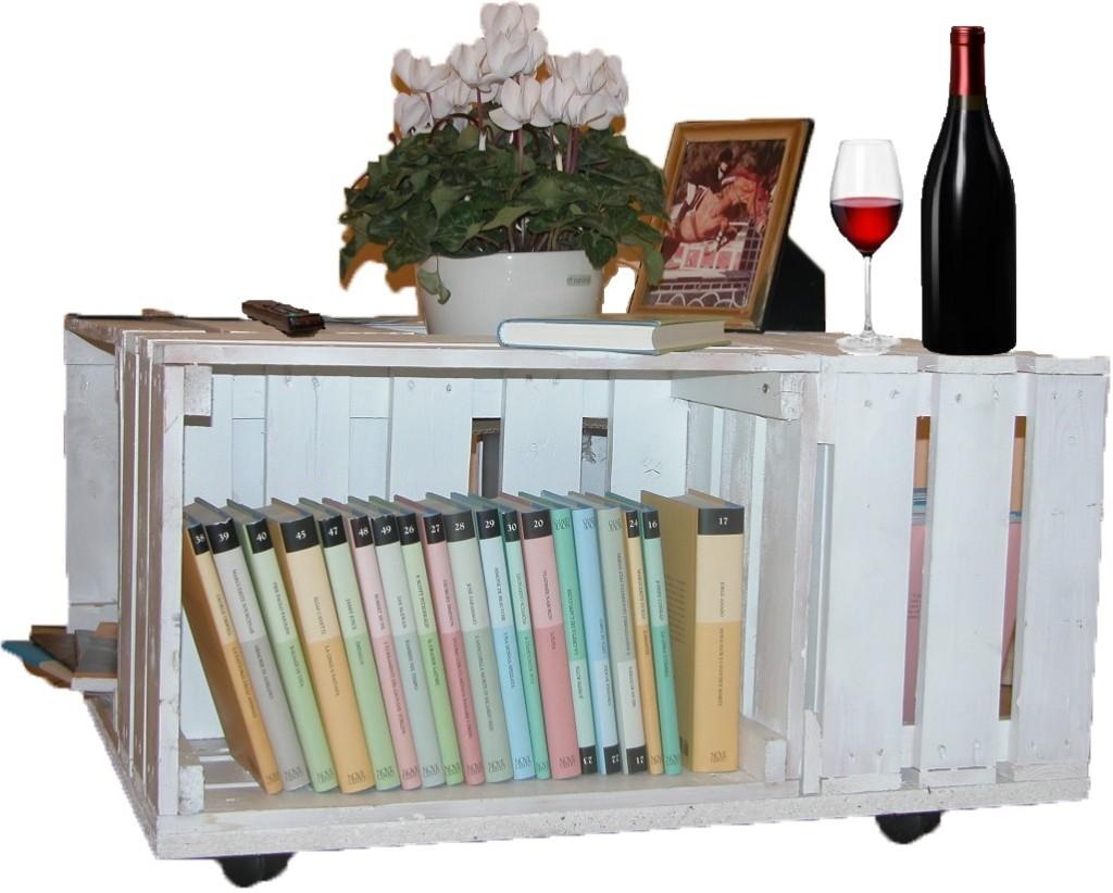 Tavolo con cassette frutta archivi mobili in pallet - Tavolo con cassette di legno ...