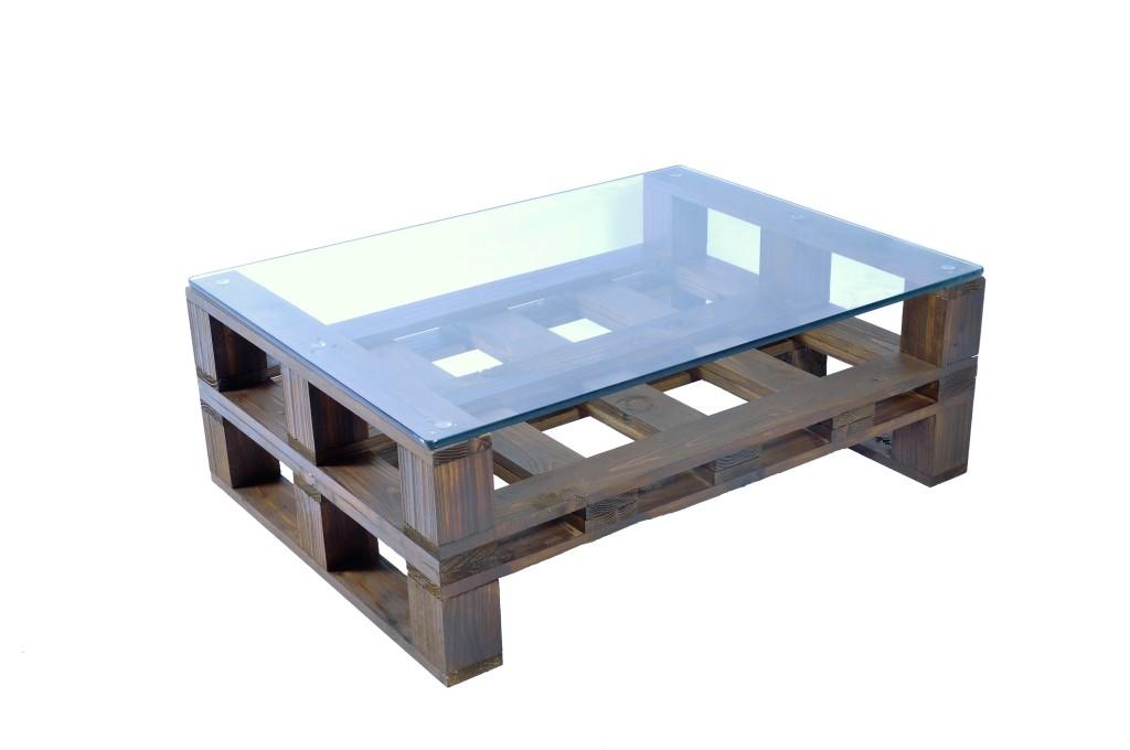Tavolino basso 60x80 con vetro COD. TAV05V