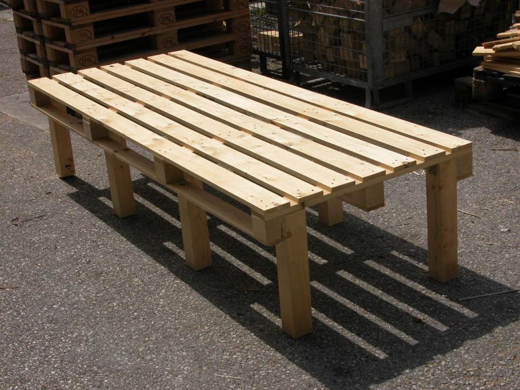 Divani bancali pallet idee per il design della casa - Mobili bancali legno ...