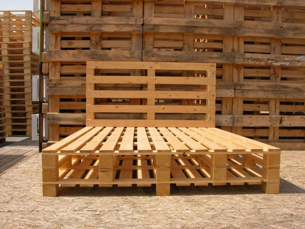 spesso Come realizzare un letto con i pallet - mobili in pallet EV71