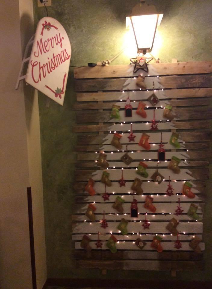 Albero di Natale in pallet Pizza&Fichi