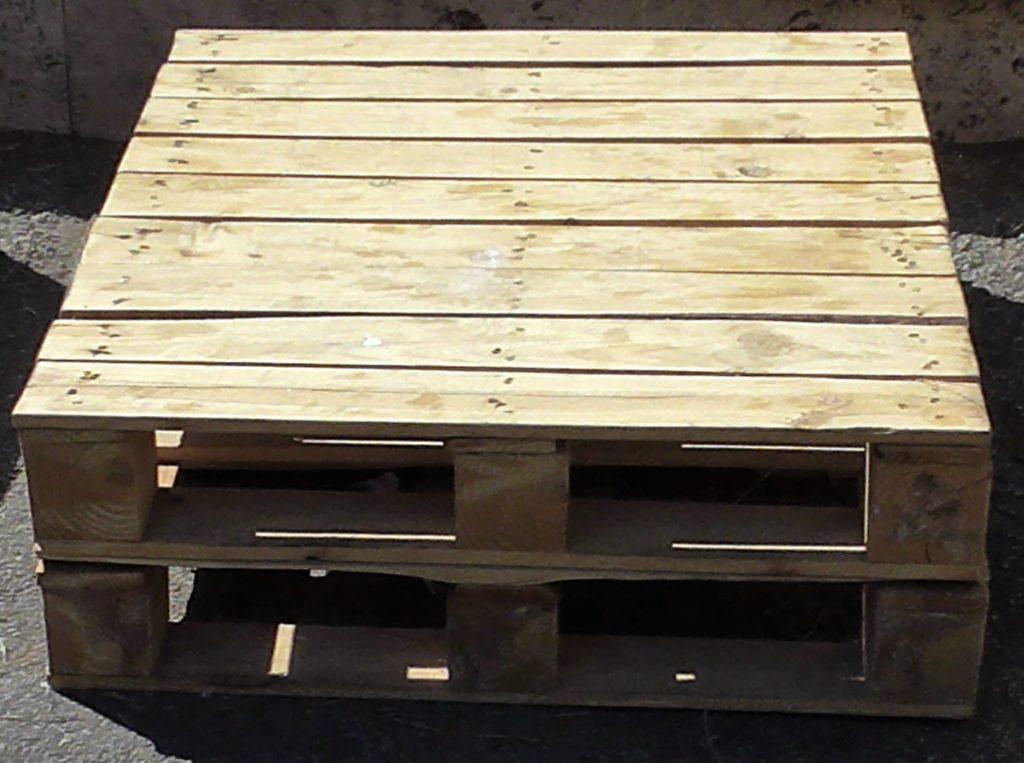 Tavolino basso in pallet COD. TAV05